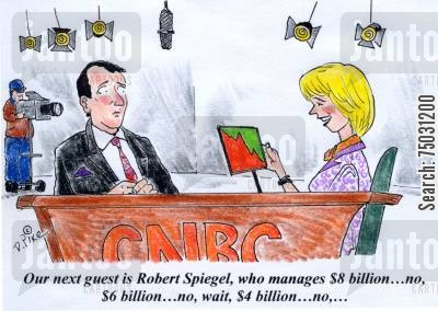 Newscaster cartoons humor from jantoo cartoons for Spiegel young money etf