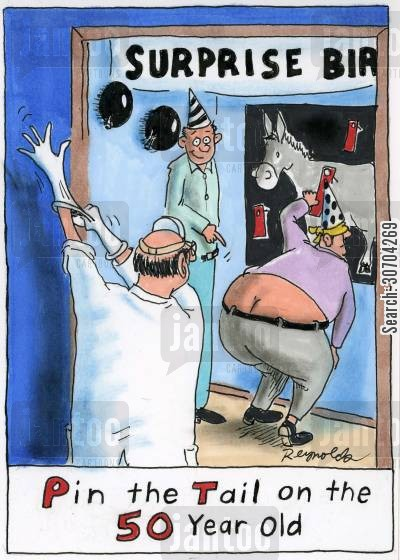 Surprise Party Cartoons Humor From Jantoo Cartoons