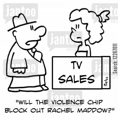 Cut the TV bad language Too much swearing and violence on