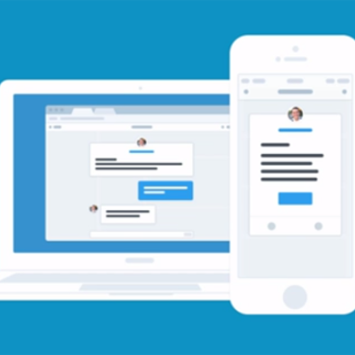Intercom app messager