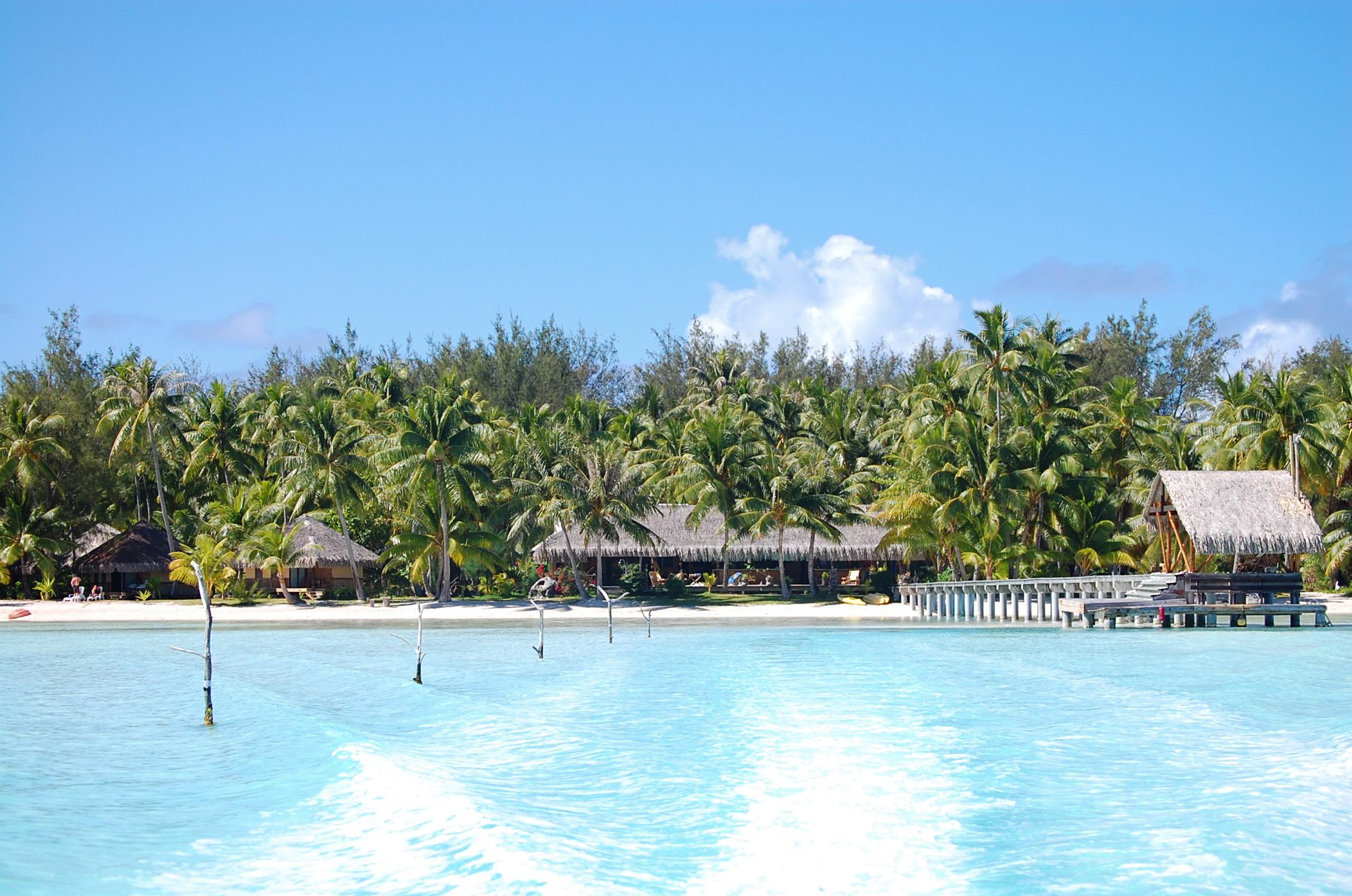 Bora Bora Eden Beach Hotel For Sale
