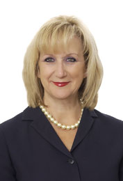 Martha Hayhurst, the newly appointed President of Harry Norman, Realtors