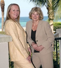 Maggie Hutter and Jo Rutstein make a top-producing real-estate team. They recently joined Premier Properties of Southwest Florida.
