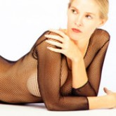 Aire Plus Size Fishnet Bodystocking Style 6150Q