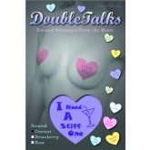 Bring It Up DoubleTalks I Need A Stiff One Heart Shaped Scented Nipple Covers
