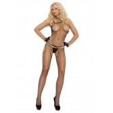 Elegant Moments Fence Net Suspender Bodystocking