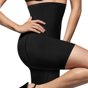 Bali Cool Comfort® Hi-Waist Thigh Slimmer Black Front