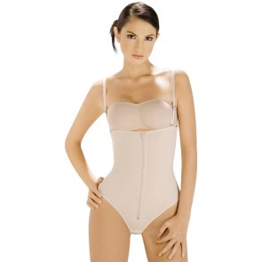 Body Line Powernet Latex Braless Thong Back Body Briefer Style 1023
