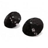 Bijoux Indiscrets Burlesque Black Sequin Pasties Style 57666