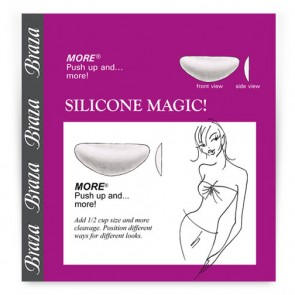 Braza The More Silicone Breast Enhancers Front 1