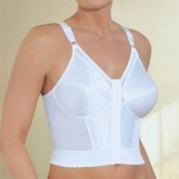 Glamorise Front Close Posture Back Support Longline Bra Style 2260