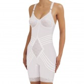 Rago Soft Cup Extra Firm Control Long Leg Body Briefer