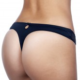 Timpa Duet Lace Low-Cut Thong