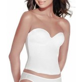 Valmont Longline Seamless Strapless Bra with Molded Cups