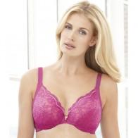 Glamorise Full-Figure Underwire Lace Bra Style 9045