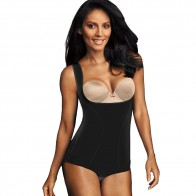 Flexees by Maidenform Wear Your Own Bra Romper Style 1856
