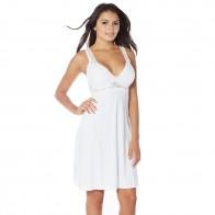 Rhonda Shear Sweet Pea Butterknit Night Gown Style 7900