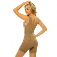 Siluet Capuchina Postsurgical Wide Strap High Waist Mid-Thigh Compression Garment Style 1013