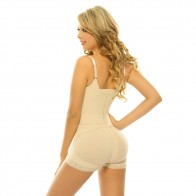 Siluet Lily Braless Zip-Front Body Briefer Style 1300
