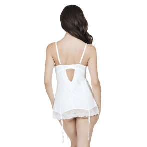 Affinitas Pearl Unlined Wire Babydoll Style A1048