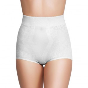 QT Intimates Lace Jacquard Control Brief Style 281