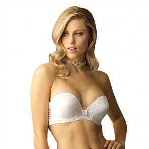 Va Bien Low Plunge Push-up Strapless Bra Style 6161