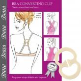 Braza Bra Converter Clip and Strap Holder Package