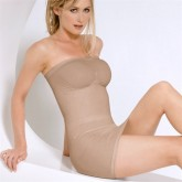 Julie France Seamless Strapless Control Dress Slip Style JF017