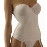 Va Bien Seamless Strapless Bustier nude Front