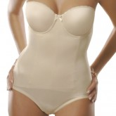 Va Bien Seamless Molded Strapless Body Briefer Style 516
