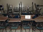 Lot: 221.CHS - (1) Teacher & (25) Student Desks