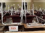 Lot: 613.CHS - (1) Teacher & (25) Student Desks