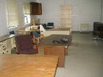 Lot: 102 - Desks, File Cabinets, Shelves, Cart, Chairs