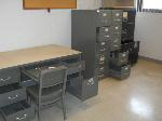 Lot: 105 - Desks, Hutches, File Cabinets, Lockers, Chairs