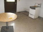 Lot: 129 - Stove, Shelf, Table, Coffee Machine