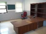 Lot: 206 - Desks, Hutch, Sofa, Table, Chairs