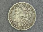 Lot: 541 - 1899-O MORGAN DOLLAR - F