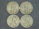 Lot: 550 - 1923-1936 WALKING LIBERTY HALVES