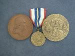 Lot: 572 - COMMEMORATIVE MEDALS