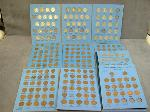 Lot: 580 - PENNY & NICKEL COLLECTION BOOKS