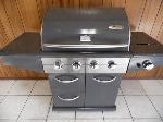 Lot: A4680 - Amana Stainless Steel Propane Grill