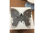 Lot: 71, 72, 73, 74 - (5)Tables, (2)Decorative Butterflies