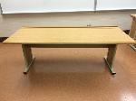 Lot: 76 - (50)Long Rectangle Table