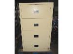 Lot: 27-000 - HON Fire-Resistant File Cabinet w/ Key