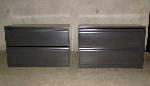 Lot: 27-023 - (2)  Knoll Calibre 2-Drawers Lateral File