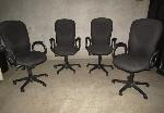 Lot: 27-027 - (4) HON Office Chairs