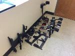 Lot: 9 - (8) vehicle long gun mounts