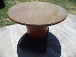 Lot: A4824 - Round Wood Table