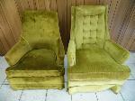 Lot: A4827 - Vintage Massound Sofa Chairs