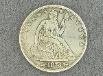 Lot: 787 - 1873 SEATED LIBERTY HALF DOLLAR